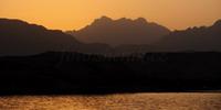 západ slunce v Egyptě