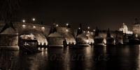 Stará Praha, Pražský hrad černobíle