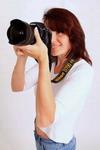 fotograf před objektivem